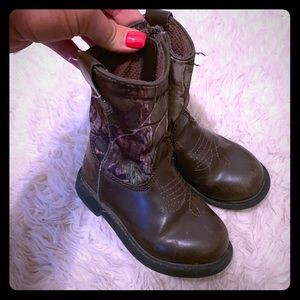 Size 7 toddler cowboy boots